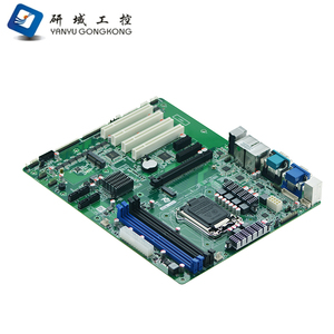 X86 industrial Mainboard support 4*Memory slot,4* PCI Expansion slot  Industrial computer Motherboard