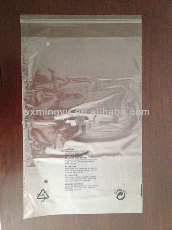 Cheap Wholesale Plastic Bags With Printing ,Garment Accessory Factory