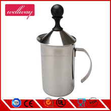 Wholesale Custom Stainless Steel Automatic Hand Operation Milk Frother, Milk Foamer