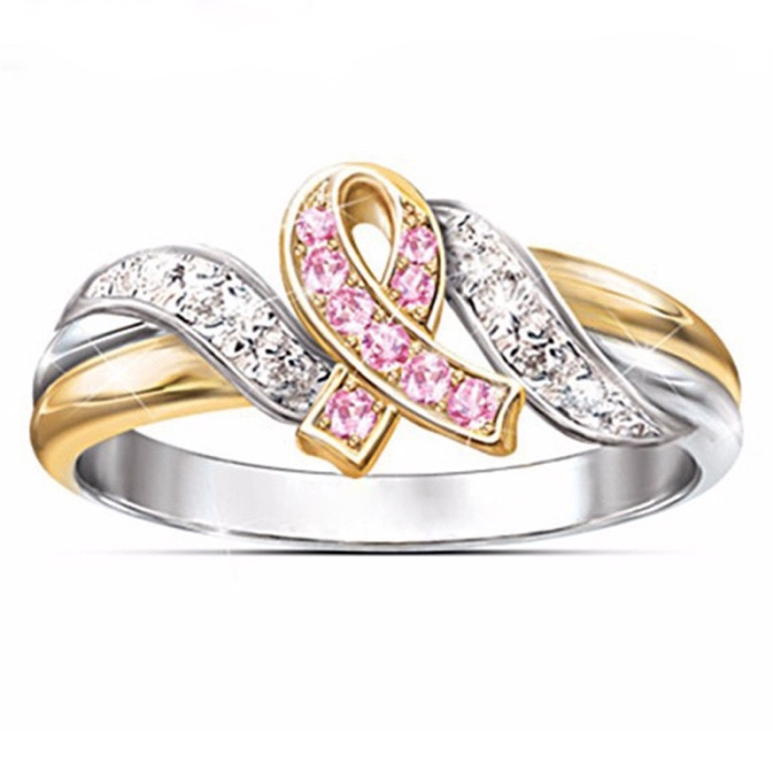 Best Selling Bow Knot 18k Jewelry Female Beautiful Ribbon Ring