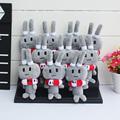 10pcs lot Anime Kantai Collection Shimakaze Rabbit Plush Pendants Keychain Soft Stuffed Doll 14cm Free Shipping