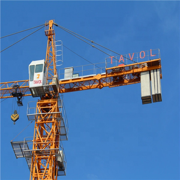 Oriemac QTZ63 tower crane construction for sale