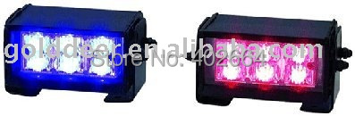 Из светодиодов сигнальная лампа ( SL630 ) + Gen-3 из светодиодов 1 Вт + 15 флеш шаблоны + 12 В или 24 В постоянного тока + прикуриватель с силой и переключателя режимов