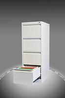 Office filing system four door vertical filing cabinet