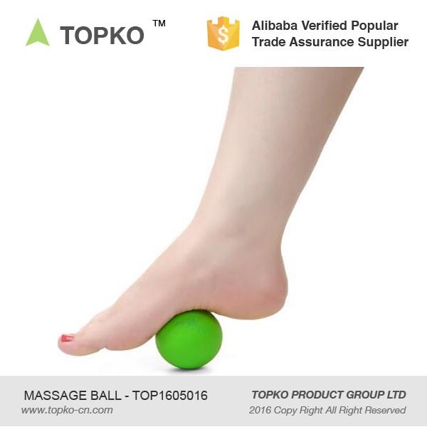 Topko Customized Print Lacrosse Ball Soft Mobility Foot Back Eva ...