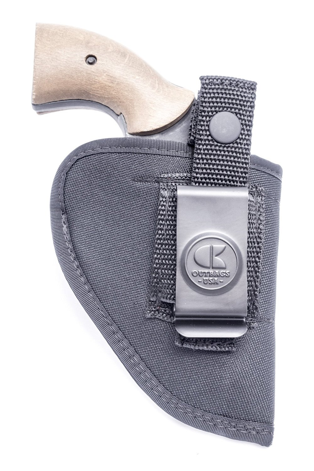 MADE IN USA S/&W Chiefs Special Nylon IWB OWB Combo Holster