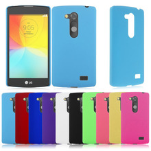 Luxury Ultra Thin Slim Matte Hard Plastic Back Snap On Cover Case Skin Shell For LG L Fino D295 Protective Phone Cases