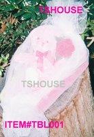 Decorated Pink Tissue Holder Valentines basket with teddy bear