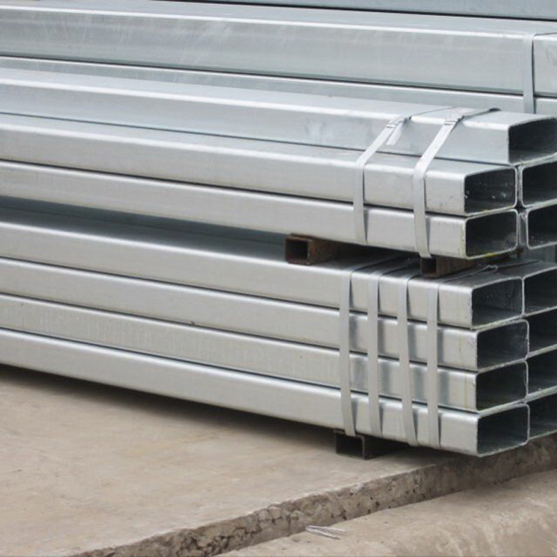 GI steel tube Q195 pre galvanized square steel pipe, galvanized fence tubing size 20x20