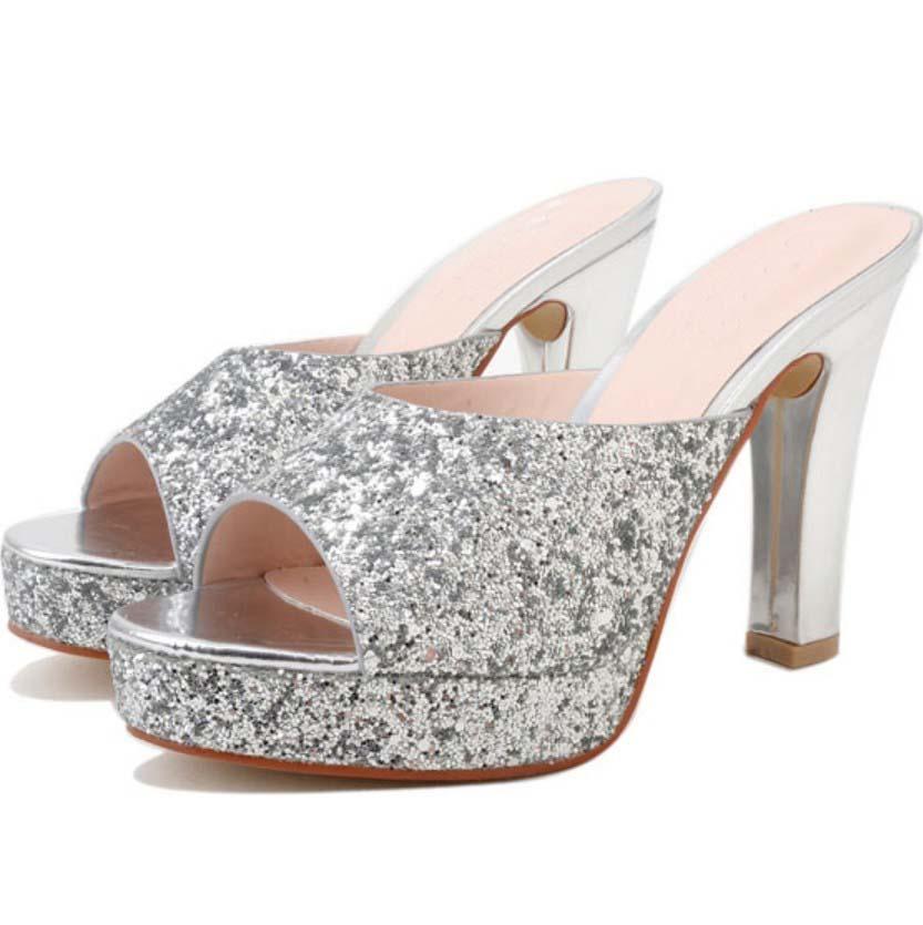 argent bloc talon chaussures promotion achetez des argent bloc talon chaussures promotionnels. Black Bedroom Furniture Sets. Home Design Ideas