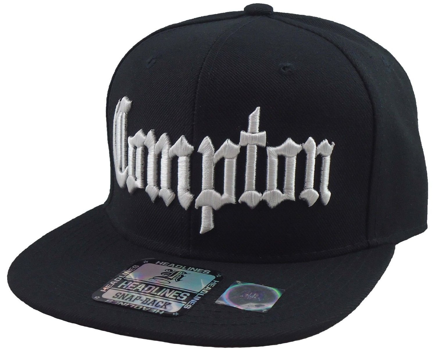 0ded804a040 Buy New Compton 3d Embroidered Flat Bill Snapback Baseball Cap Hat ...
