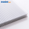 Transparent 6mm-11mm honeycomb polycarbonate hollow sheet