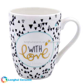 Triangle clay 12 Mugs Ceramic Decal And Buy gold Coffee Pattern Gold Mugs Words Clay Oz Exquisite Small Mugs vm0N8wnyO