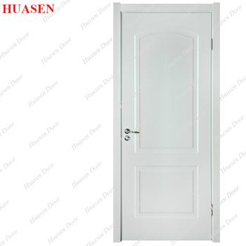 современный простой дизайн спальни цвет краски деревянная дверь