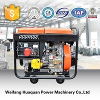 5kw silent diesel generator price with less fuel consumption