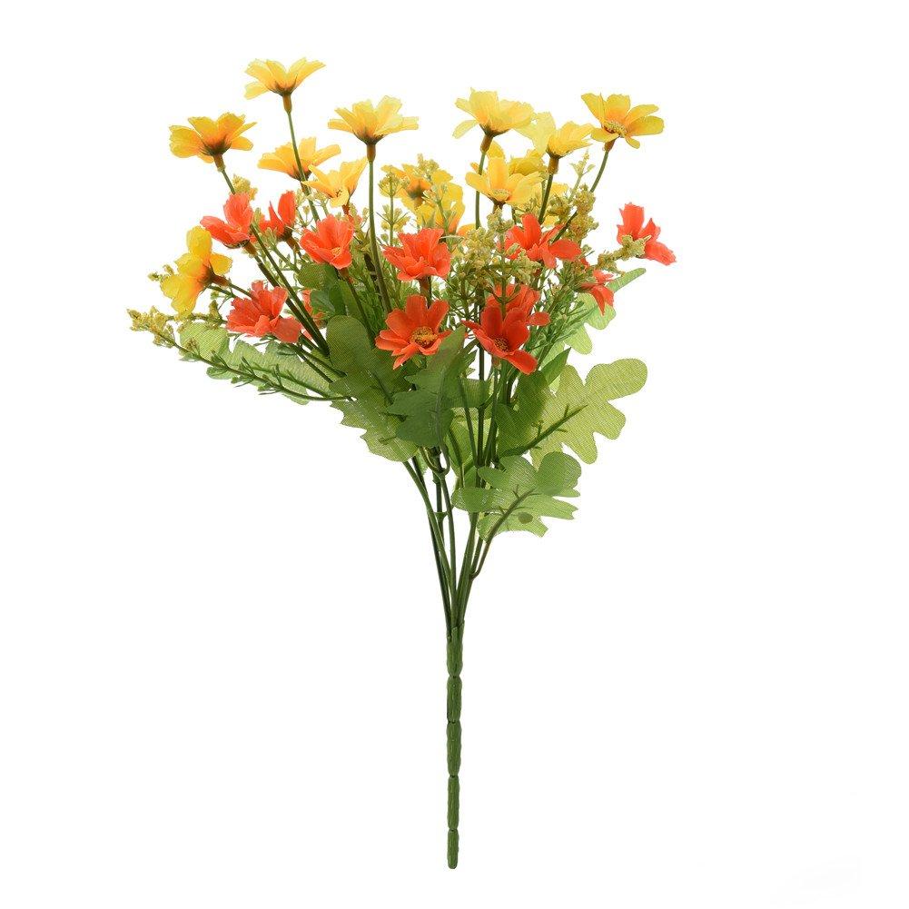 Get Quotations Sundlight Simulation Chrysanthemum Flower Bouquet 1pcs Silk Artificial Decoration Suncetcolor