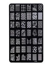 2016 hot sale Flower Design Nail art Image Stamp Plates Polish Stamping Manicure Image XY18 Size