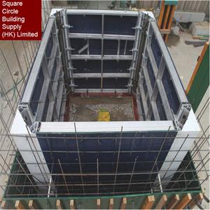 China suppliers manufacturer design formwork Elevator Shaft Platform for  construction