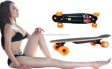 4 Wheel Sport Skateboard Dual Motor 2*300W Self Balancing Electric Hoverboard For Adult
