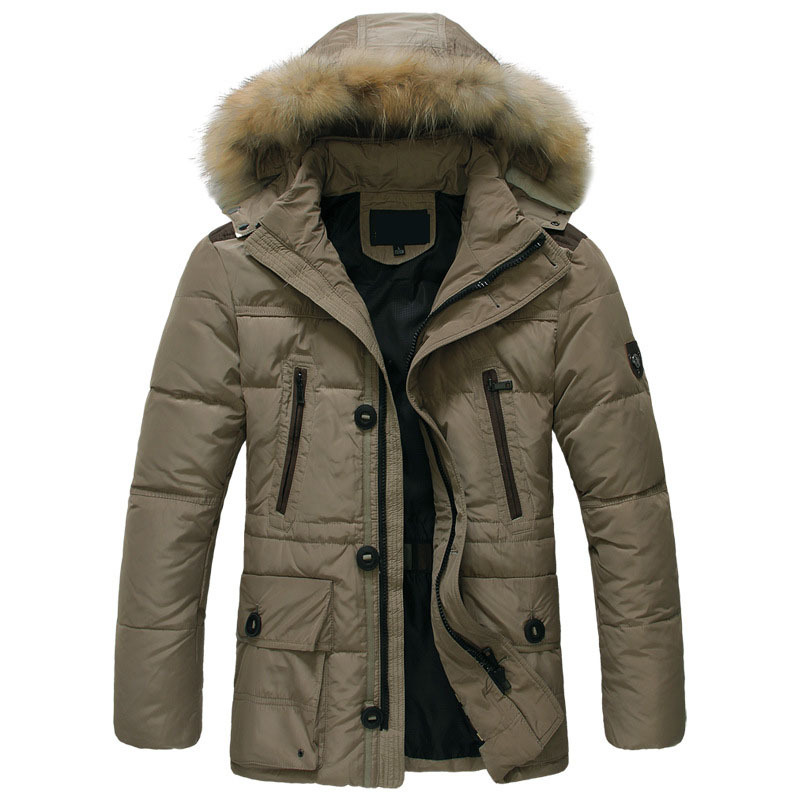 Cheap winter coats for men High quality Fashion Casual