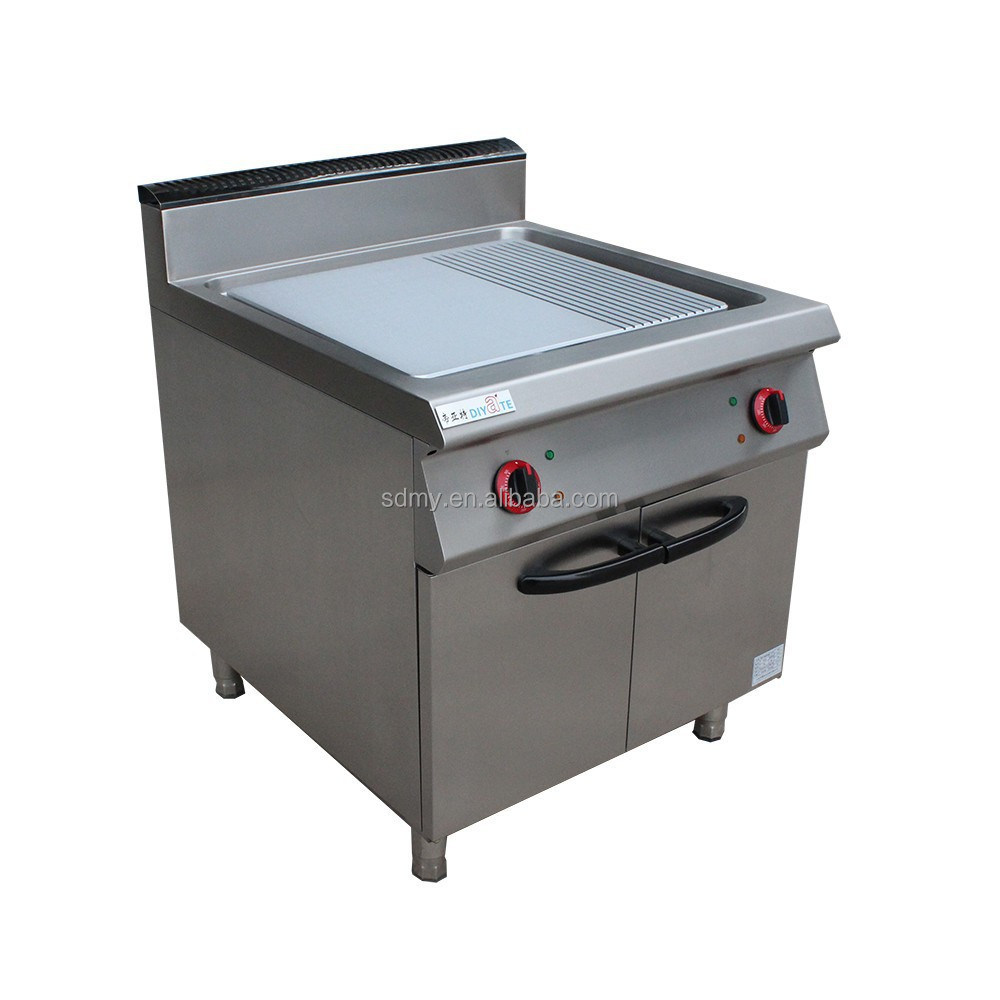 commercial gas hot plate,gas griddle with cabinet,restaurant stainless steel gas hot plate