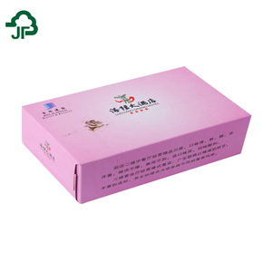 Hot Sell Box Facial Tissue Party Facial Tissue Paper Pink Facial Tissue