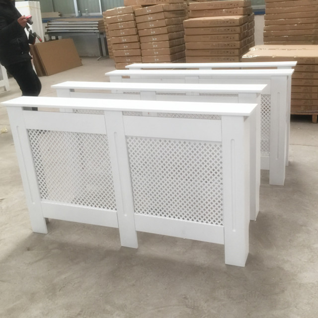 Hot French Radiator Cover Cabinets White Painting Mdf Cabinet Product