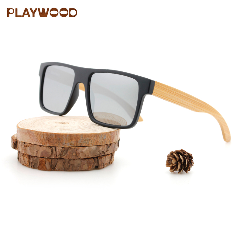 Polarized Bamboo Sports Sunglasses CE FDA Approved