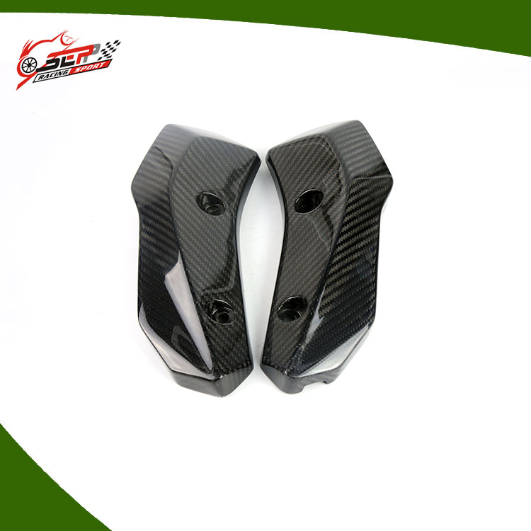 100% Pre-Preg Carbon Fiber in Autoclave process for Yamaha MT-07 Radiator Side Cover