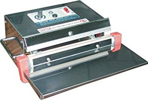 """AIE-250 10"""" Semi-Auto Table Press Impulse Sealer & Bag Sealer w/ 5mm Seal (Includes Free ABC Office Tech Support)"""