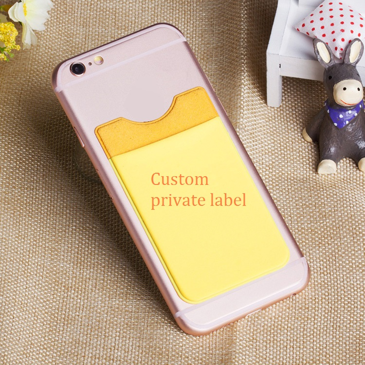customized gift private label wallet phone case with card holder