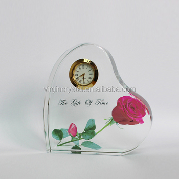 Wholesale Hot Crystal Decorative Wedding Favors Gifts Anniversary Souvenirs With Custom Logo
