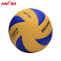 high-quality custom 8 panels MVA200 PU official match and training volleyball ball equipment