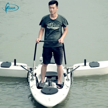 Professional China cheap hot salePE sea fishing canoe jet powered kayak for sale