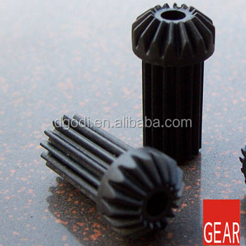 China Supplier Oem Custom Black Cylinder Straight Bevel Gear For ...
