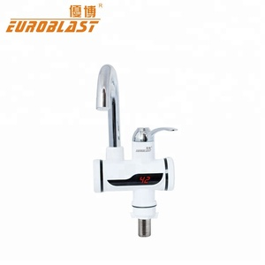 Plastic housing material water tap new digital design electric faucet for kitchen sink