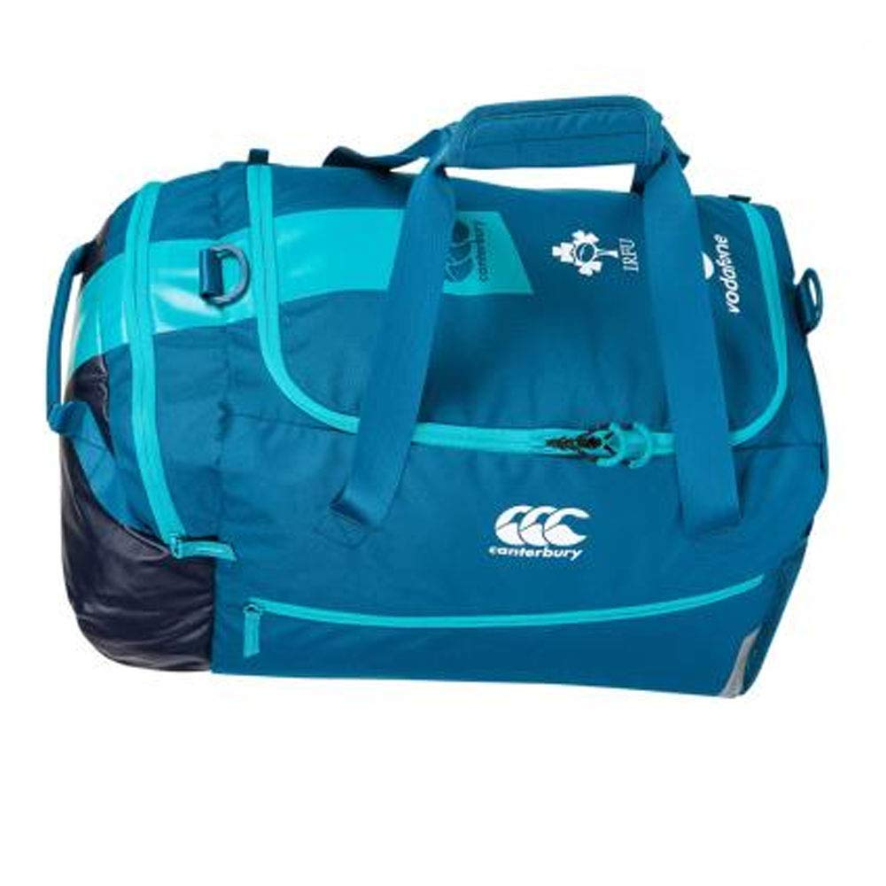 6ed818aa4c Get Quotations · Canterbury 2018-2019 Ireland Rugby Medium Sports Bag  (Moroccan Blue)