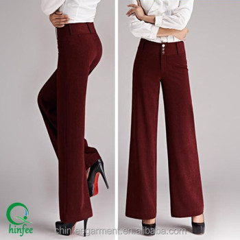 Wp015 Guangzhou Elegante Palazzo Mujeres Pantalones De Vestir Buy Pantalones De Vestir Para Mujerpantalones Palazzopantalones Elegantes Product On