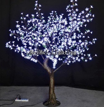 Project Decoration Artificial Tree With White Led Lights