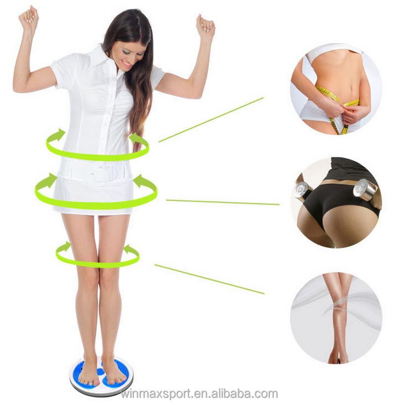 High Grade Calories Waist Twist Plate Disc Exercises Home