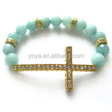 BRC2056 Arm candy cross bracelet,fashion cross bracelet