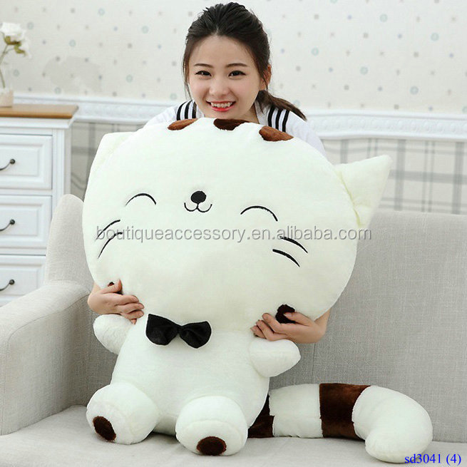 Creative Large Size Plush Toy Big Faced Cat
