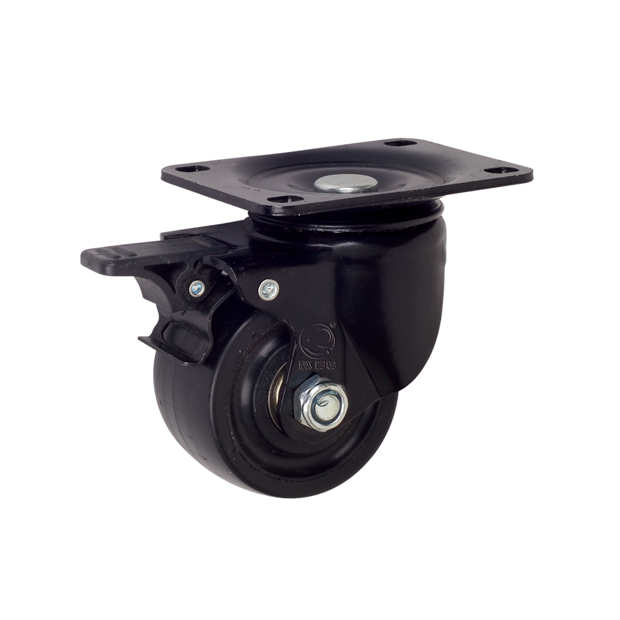 Low Profile High Load 1.5 2 2.5 3 Inch Wear-Resisting Caster Wheels