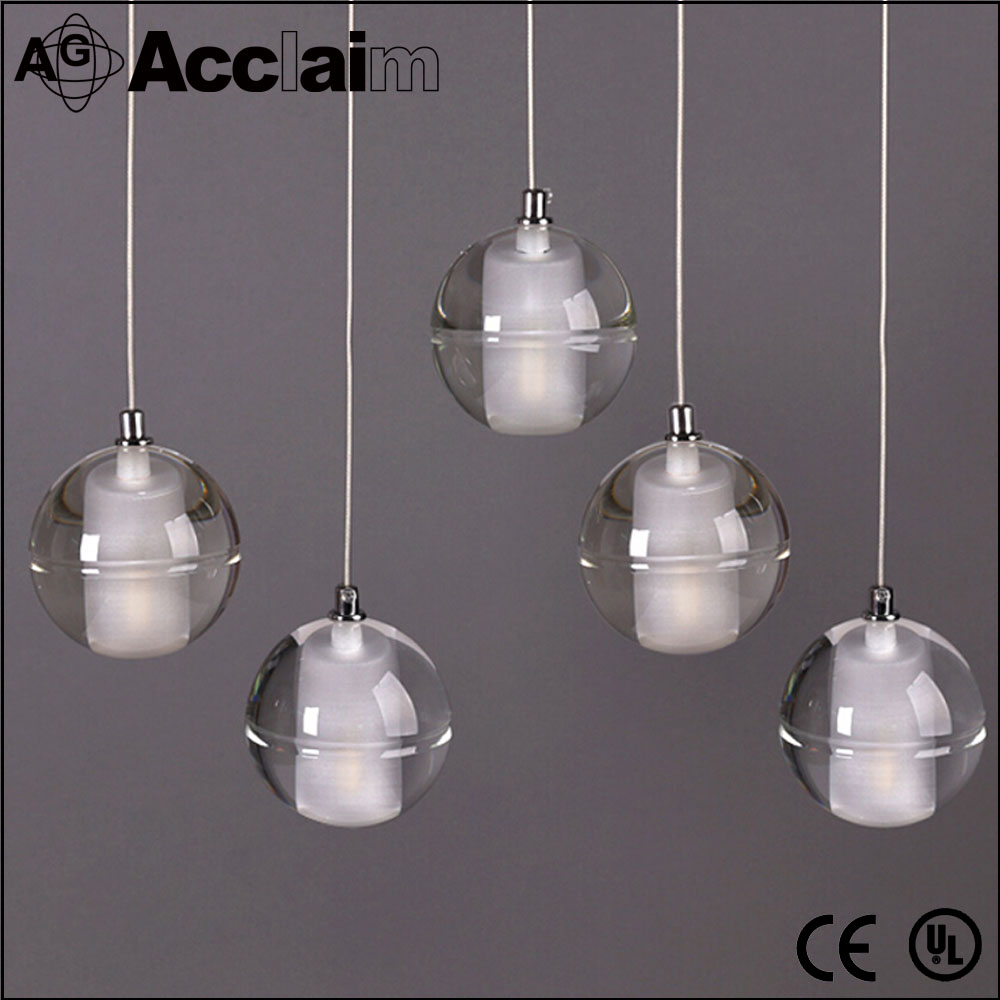 Modern house design pendant light cheap crystal ball chandeliers