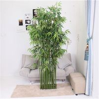 New coming comfortable design let eyes relax christmas artificial bamboo tree plant
