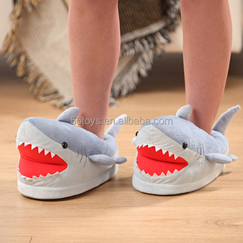 Factory Oem Cartoon Character Shark Slippers Crochet Pattern Buy