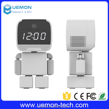 Free Samples Best sell tf card wifi clock camera wholesale online