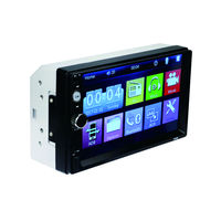 Double Din Multimedia System Car USB Video Player for Universal