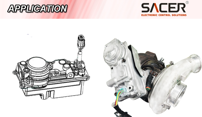 Sacer Sa1150 Isx Turbocharger Repair Actuator Replacement - Buy Actuator  For Isx,Turbocharger Actuator Repair For Daf Volvo Vgt,Turbocharger Repair