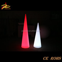 Rechargeable battery color changing cordless remote control indoor battery operated led table lamp